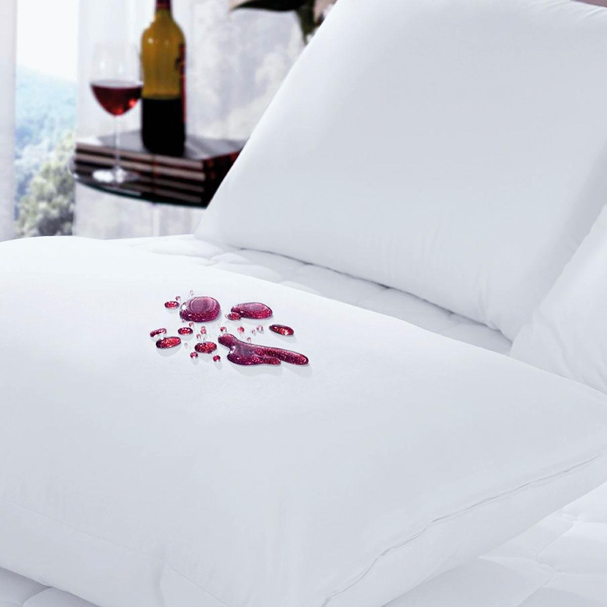 Protetor Para Travesseiro Impermeável Cotton