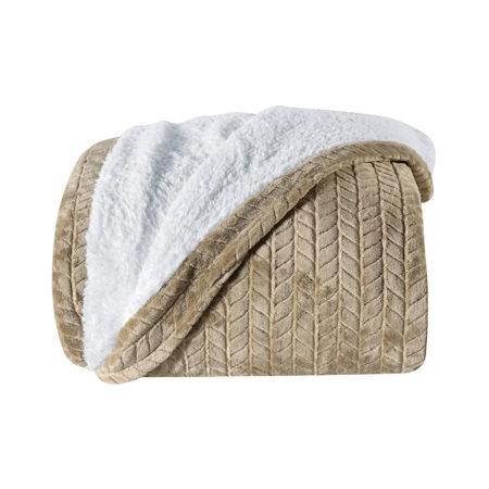 Cobertor Lancaster Bege