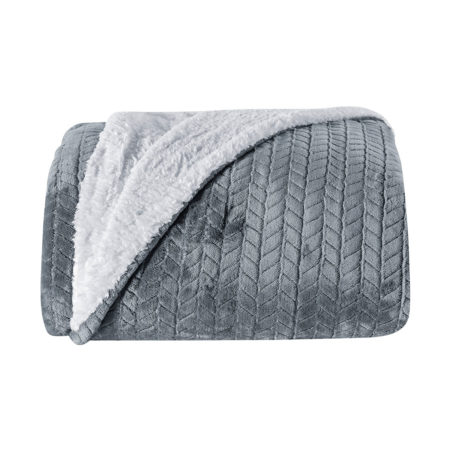Cobertor Lancaster Cinza