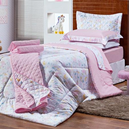 Coleção Juma Kids Unicórnio Cotton