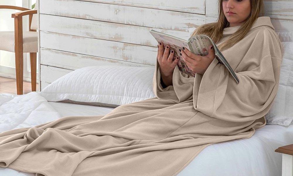 Cobertor com Manga Juma Enxovais