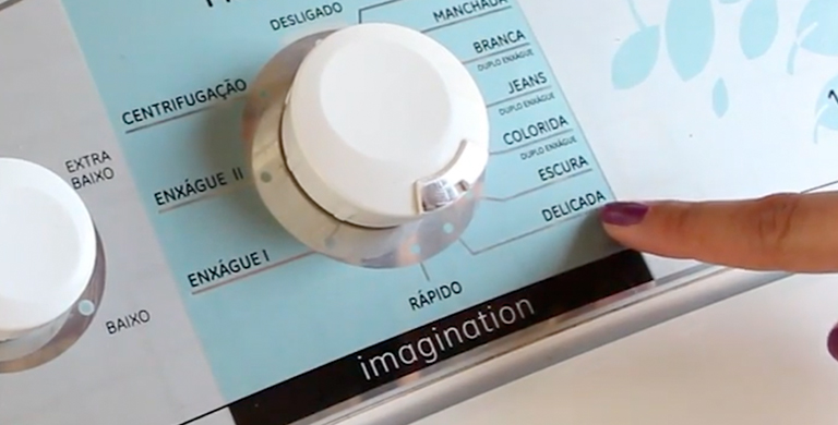 Lavar Edredom na Máquina - Modo de Lavagem